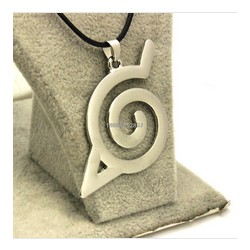 Naruto Leaf Village Symbol Necklace