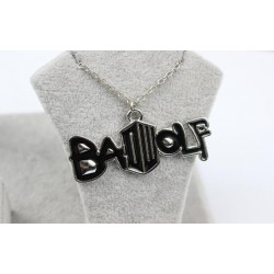 Bad Wolf, Dr Who Themed Necklace