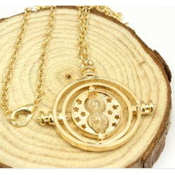 Harry Potter Hermione Golden Time Turner Necklace