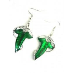 LOTR/Hobbit Elven Leaf Earrings