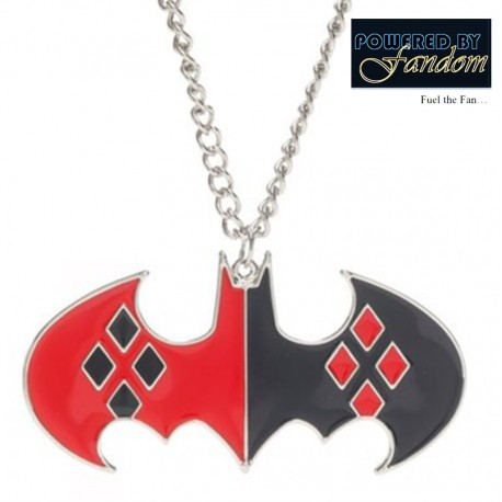 Harley Quinn Themed Batman Necklace