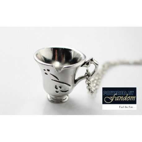 Once Upon A Time Teacup Necklace