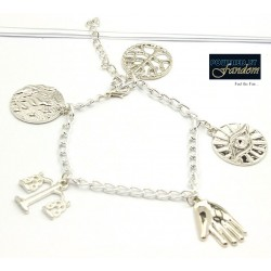 Divergent Inspired Charm Bracelet (Silver)