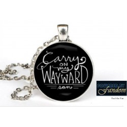 Supernatural Inspired Cabochon Necklace