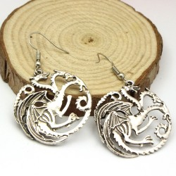 Game of Thrones House Targaryan Earrings