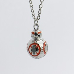 Star Wars BB8 Inspired Necklace