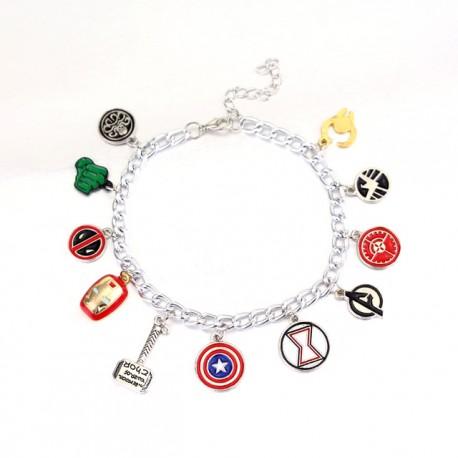 Avengers Inspired Charm Bracelet