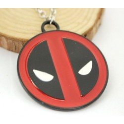 Deadpool logo alloy necklace
