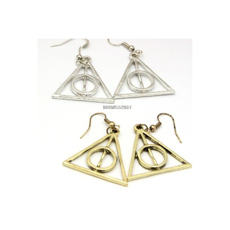 Deathly Hallows Harry Potter Earings