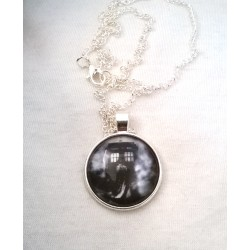 Dr Who inspired dome necklace