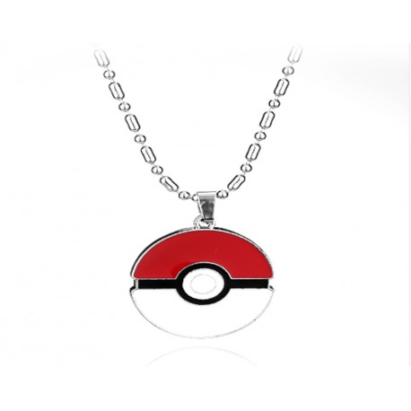 Pokemon, Poke Ball Necklace