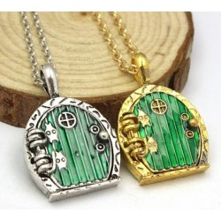 Green Hobbit Door Locket