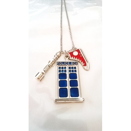 Dr Who Inspired Necklace