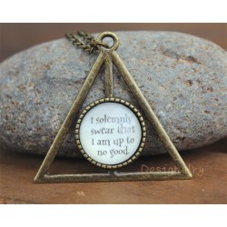 Harry Potter Deathly Hallows Necklace