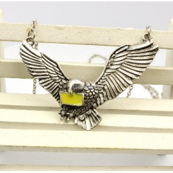 Harry Potter Flying Hedwig Pendant necklace