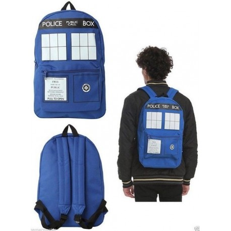 Dr Who inspired Tardis backpack