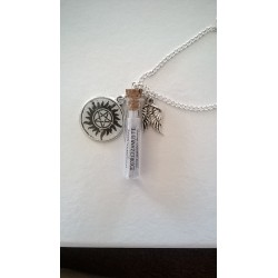 Supernatural Inspired Incantation Necklace