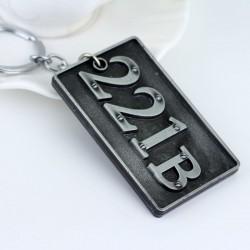Sherlock Inspired Keychain