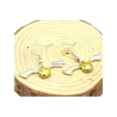 Harry Potter Quidditch Earrings Golden Snitch Earrings
