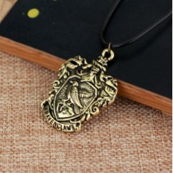 Harry Potter Hufflepuff House Crest Necklace