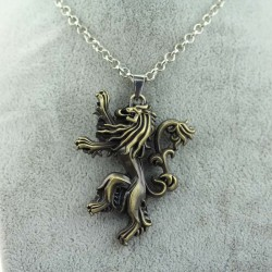 Game of Thrones House Lannister Necklace (Bronze)
