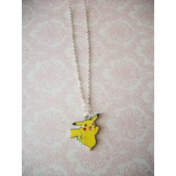 Pikachu Pokemon Necklace