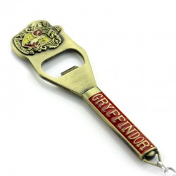 Harry Potter Gryffindor Bottle Opener/Keychain with Crest
