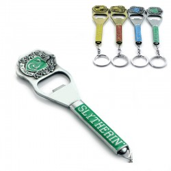 Harry Potter Slytherin Bottle Opener/Keychain with Crest