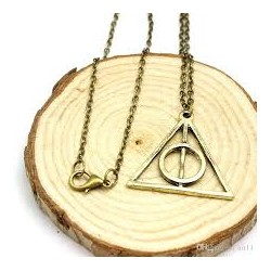 Harry Potter Deathly Hallows Necklace (Bronze)