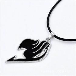 Fairy Tail Pendant Necklace (Black)
