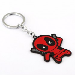 Deadpool Cartoon Keyring