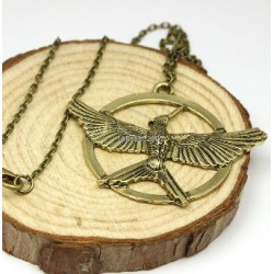 Hunger Games Antique Pendant Inspired necklace
