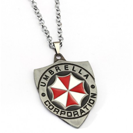 Resident Evil Umbrella Corporation Pendant Necklace