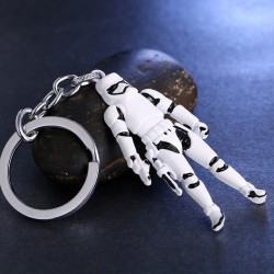 Storm Trooper Figure Keychain
