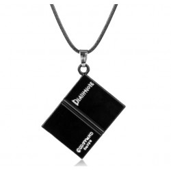 Death Note Black Book Pendant Necklace