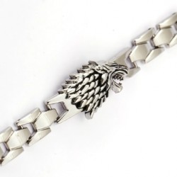 Game Of Thrones House Stark Metal Bracelet