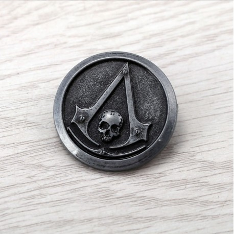 Assassin's Creed Black Flag Official Badge Pin