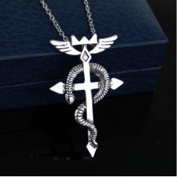 Fullmetal alchemist Inspired Necklace
